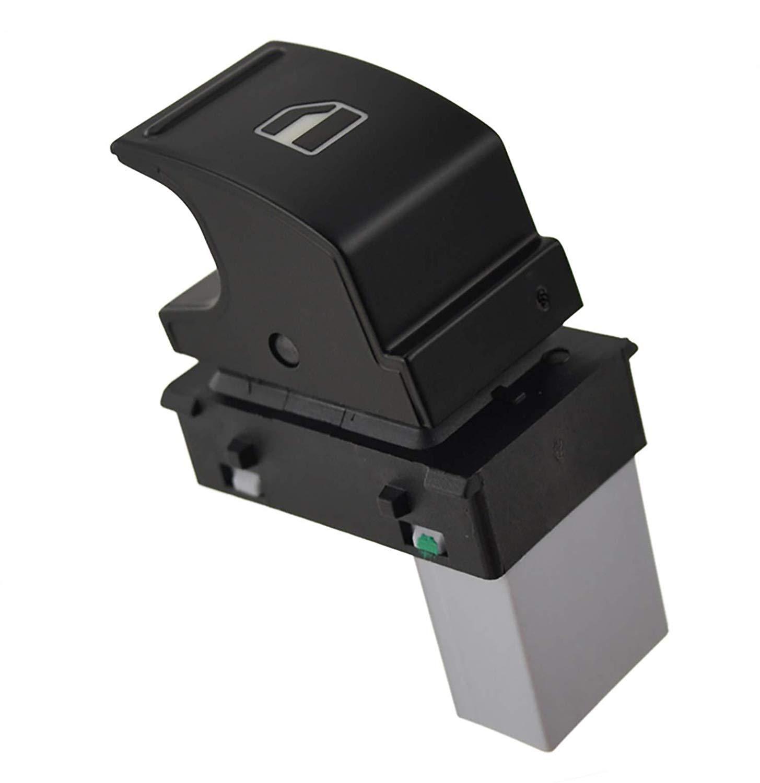 LUCKLYSTAR® 7L6 959 855B Master Ventana Interruptor Consola Eléctrico Botón de Interruptor para Control de Ventana Eléctrica Reemplazo 5ND959855, 1PCS LUCKLYSTAR®