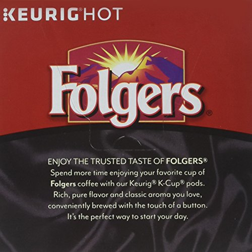 Folgers Black Silk Coffee, Dark Roast, K-Cup Pods for Keurig K-Cup Brewers, 18-Count (Pack of 4) by FOLGERS K CUPS (Image #3)