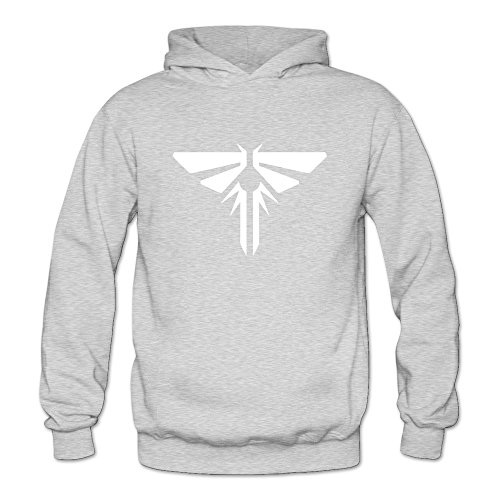 Price comparison product image YUTUO Women's The Last Of Us PS4 Xbox Firefly Logo Sweatshirt Hoodie Ash S