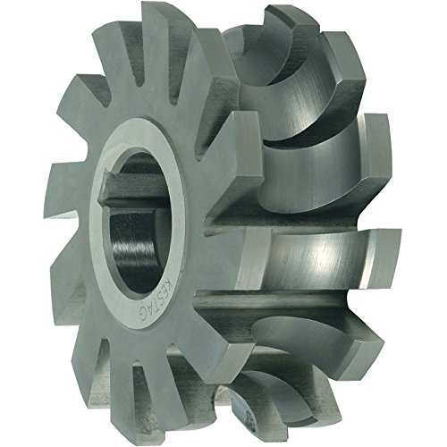 Alpen 332300200100 Half Circle Form CuttersKonkav R2mm