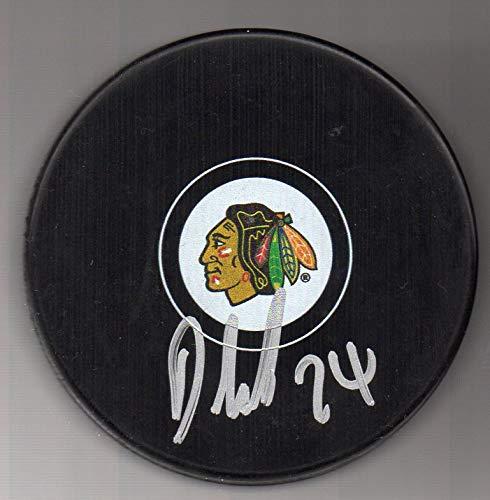 18925c4797b26 Dominik Kahun Autographed Puck Chicago Blackhawks at Amazon's Sports ...