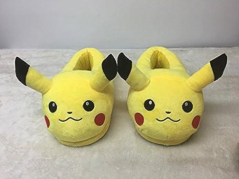 EASTVAPS Chaussons Pantoufles Maison Pokemon Go Pikachu