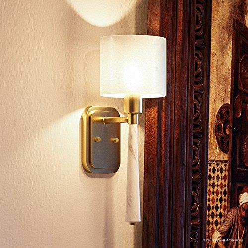 Luxury Cosmopolitan Wall Sconce, Small Size: 17