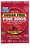 Pine Bros Sugar Free Cherry Throat Drops, 32 Count (Pack of 72)