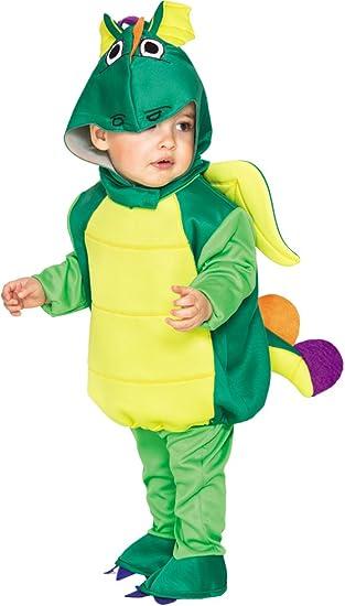 Fyasa 706489-T00 - Disfraz de dragón pequeño para niños de 2 a 3 ...