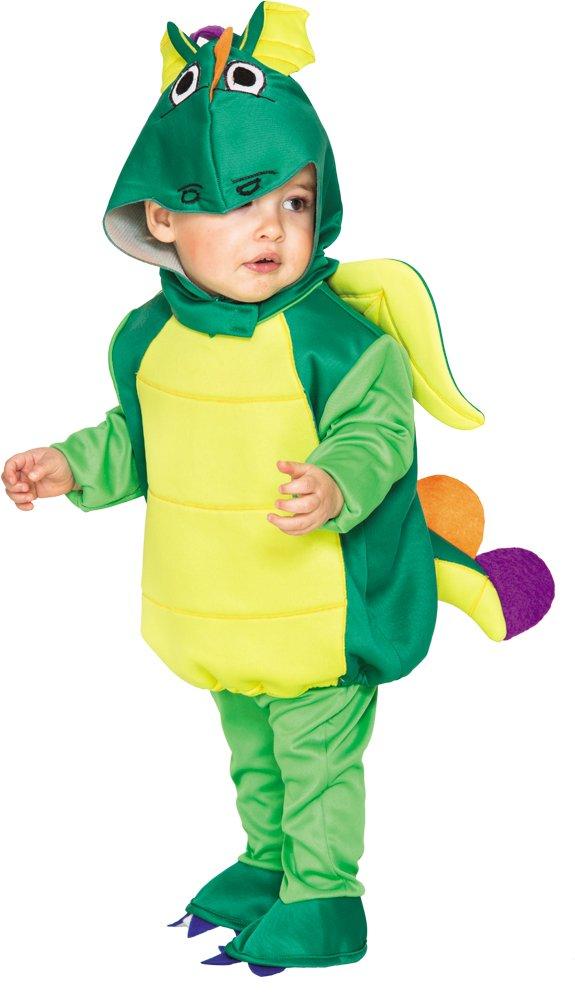 Disfraz infantil de dragón - color verde
