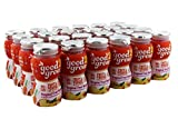 good2grow Fruit & Veggie Blend - Tropical Fruit Medley 6oz Refill Drink Bottles Pack, 24 Count - No Sugar Added, An Excellent Source of Vitamin C - Use with Collectible Spill-Proof Topper Characters