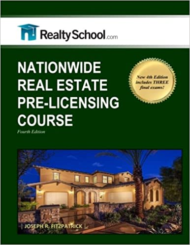 Amazon com: Nationwide Real Estate Pre-licensing Course: 4th
