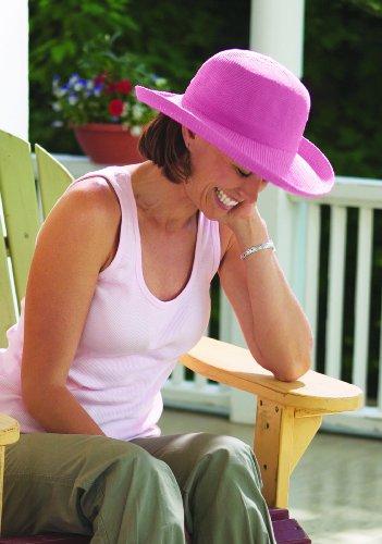 Wallaroo Women's Victoria Sun Hat - Lightweight and Packable Straw Hat, Tan