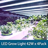 Barrina Grow Light, 4FT 42W, Super Bright, Full