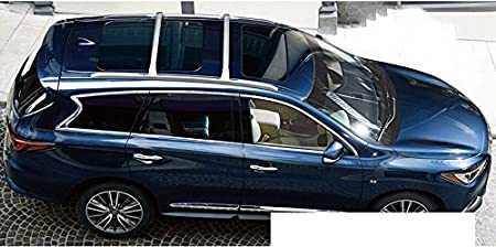 Kingcher For Infiniti QX60 JX35 2013-2018 Roof Rack Crossbars Luggage Racks Carrier Baggage Holder