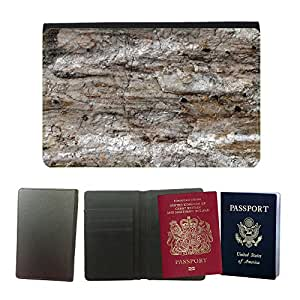 Passeport Voyage Couverture Protector // M00153624 Piedra de cuarzo mineral // Universal passport leather cover