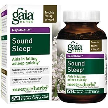 Gaia Herbs Sound Sleep Liquid Phyto-Capsules, 60 Count
