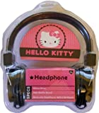 Hello Kitty HK-39109-WM Headphones with Peace Design