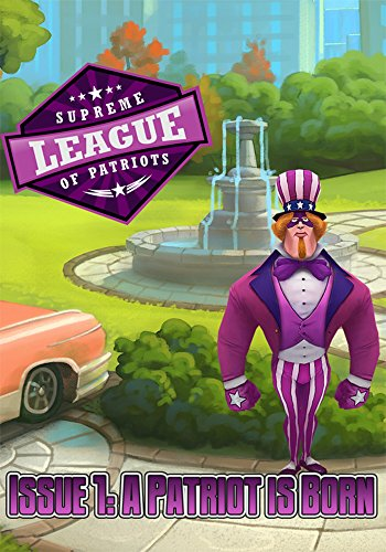 Supreme League of Patriots - Issue 1: A Patriot Is Born [Online Game Code]