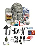 Ultimate Arms Gear Wise Company 5 Day Emergency Bug Out Backpack (ACU) With Food Rations, Drinking Water,First Aid Kit, Stove, Blanket, Poncho & More + LifeStraw Personal Water Filter Survival Set