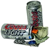 COORS LIGHT Diversion Stash Can Safe – Hide in Plain Site