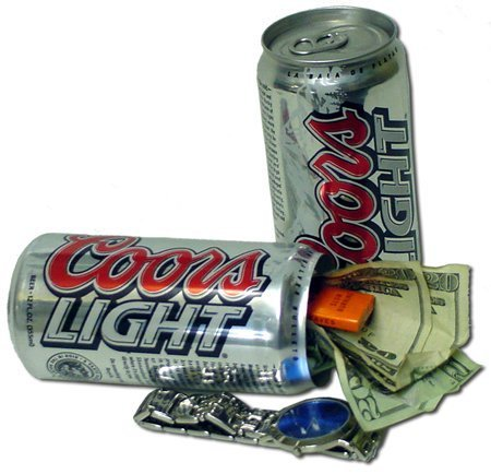 COORS LIGHT Diversion Stash Can Safe – Hide in Plain Site by USA