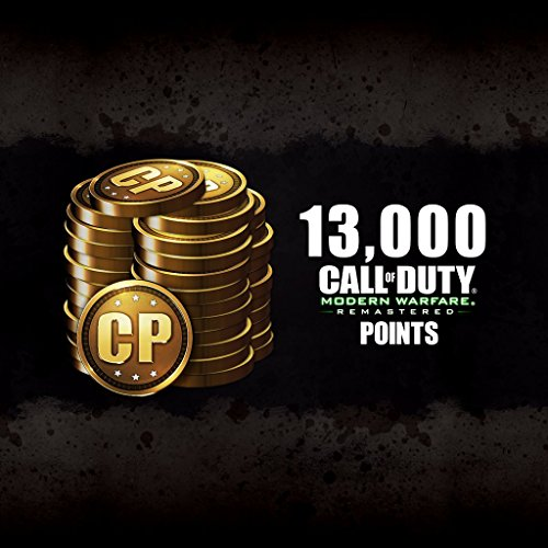 13,000 CoD Modern Warfare Remastered Points - PS4 [Digital Code] by Activision