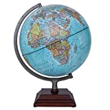 Waypoint Geographic WP21008 Odyssey II Illuminated Desktop Globe, Blue - Illuminated; 12''