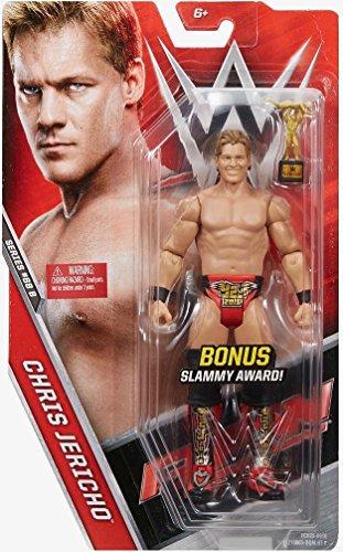 WWE Basic Series #68 B - Chris Jericho Figure Chase with Slammy Award by Mattel