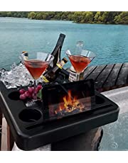 Spa Tender Hot Tub Ice Bucket, Tablet Stand, Drink Holder