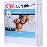 100% Waterproof Mattress Protector Cover with Dupont Durashield Breathable Cotton Rich to Protect Mattress from Stains Spills Dust Mites Allergens Bacteria. Fit Up to 21 Inch Mattress. (Queen Size)