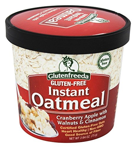 Glutenfreeda - Instant Oatmeal Cup Cranberry Apple with Walnuts & Cinnamon - 2.64 oz.(pack of 2)