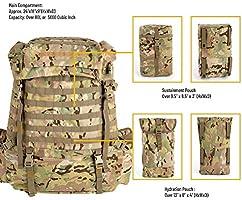 Amazon.com: Akmax.cn US FILBE mochila militar, con marco y ...