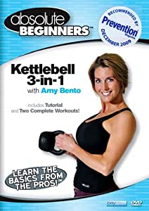 Absolute Beginners Fitness: 3 in 1 Kettlebell Amy Bento - Recommended by Prevention Magazine (kettle bell) [Import]