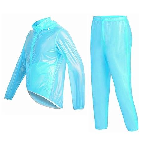 Chubasquero Unisex Mujer Hombre Impermeable transparente ...