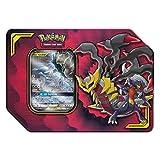 Pokemon TCG: Tag Team Giratina & Garchomp + 4 Booster Pack + 1 Metal Tag Team Gx Marker + 1 of 3 Foil Tag Team Pokémon-GX Tin
