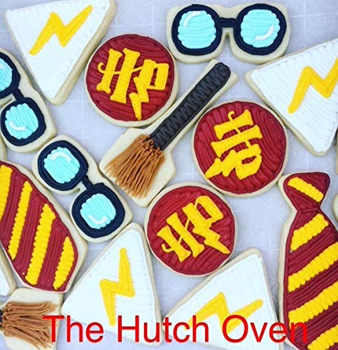 7 Piece Witch and Wizard Cookie Cutter Set by Harry potter (Image #2)