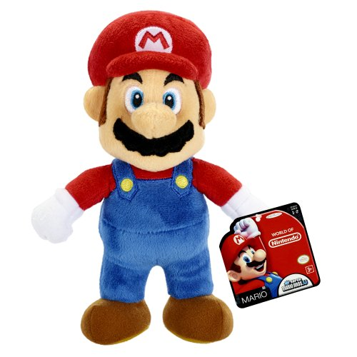 World of Nintendo Supper Mario Bros U. - Mario Plush