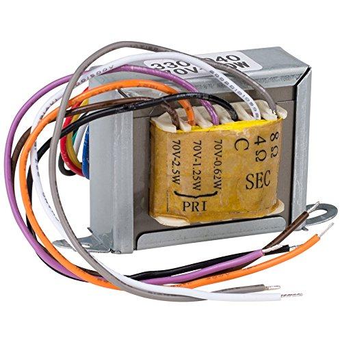 Speaker Transformer - Parts Express 70V 10W Speaker Line Matching Transformer