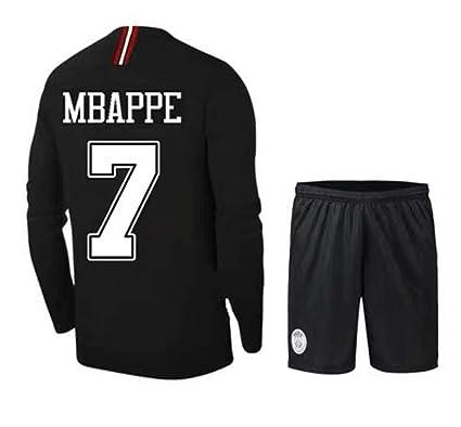 pretty nice 039ae 7818e Amazon.com : LISIMKEM UEFA Paris Saint Germain Mbappe#7 ...