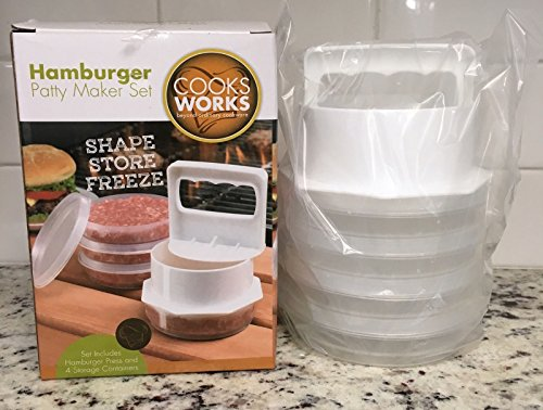 Cook Works - Hamburger Patty Maker Set Hamburger Patty Press