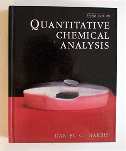 AmazonCom Quantitative Chemical Analysis  Daniel C
