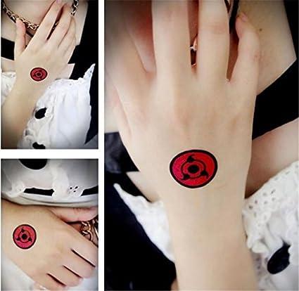 Amazon.com: 3pcs Naruto ITACHI Uchiha Sasuke Sharingan Sign ...