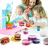Gbell Interesting Icem cream DIY Slime Clay Set, Educational Toy Special Slime Toys Pretend Play Set Toy for Kids Toddlers Girls (Multicolor)