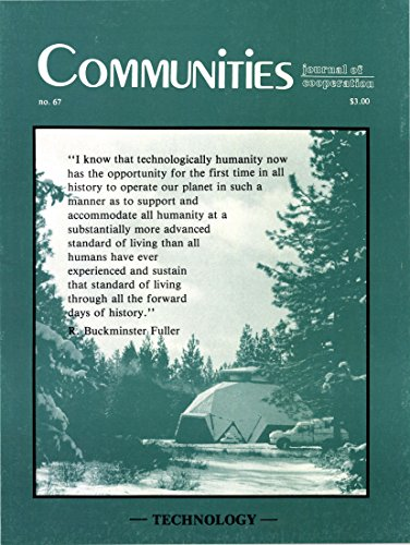 Communities Magazine #67 (Summer 1985) – Technology in Community