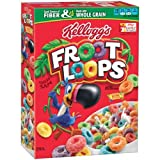 Kelloggs Froot Loops Sweetened Multi-Grain Cereal, 8.7 Ounce -- 12 per case.