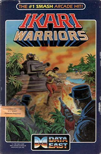 Ikari Warriors (1986) by Data East (For Commodore 64/128 Computers) (Best Commodore 64 Games)