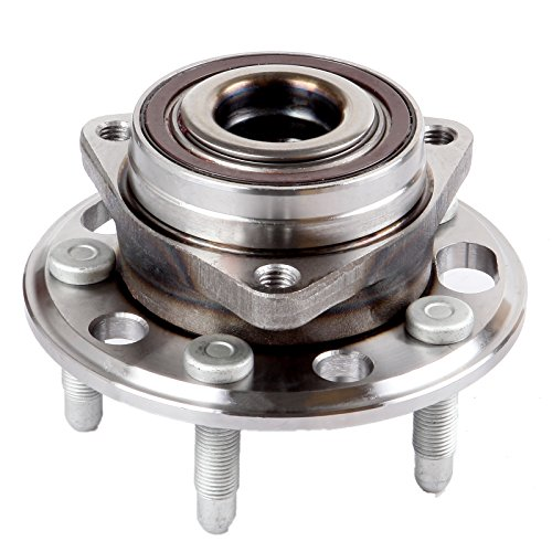 (ECCPP Wheel Hub and Bearing Assembly Front Rear 513288 fit 2010-2016 Buick Regal Cadillac Chevrolet Impala Terrain Replacement for 5 lugs wheel hub with ABS 3 Bolt Flange)