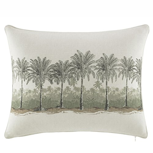 Tommy Bahama Canvas Stripe Breezer Palm 16 x 20 Decorative Throw Pillow Multi