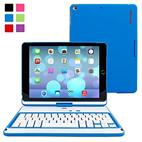 Amazon.com: iPad Air/New iPad de 9.7 inch, giratorio 360 ...