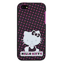 Hello Kitty iPhone 5/5s Polka Dot Case-Retail Packaging, Pink