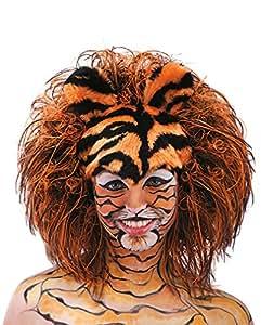Tiger peluca peluca rayado