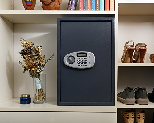 AdirOffice Security Safe with Digital Lock, Black, 2.32 Cubic Feet by AdirOffice (Image #5)