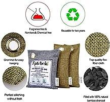 Ambientador Natural y Purificación de Aire 3 Pack,Bambú Activado ...
